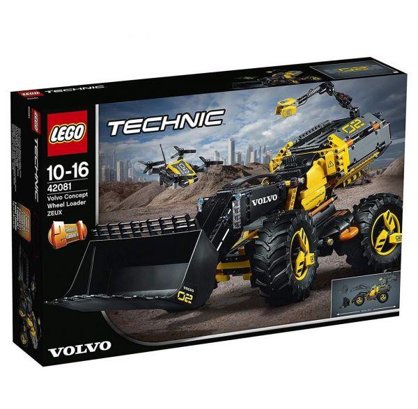 LEGO 42081 - Technic - Volvo Konzept-Radlader