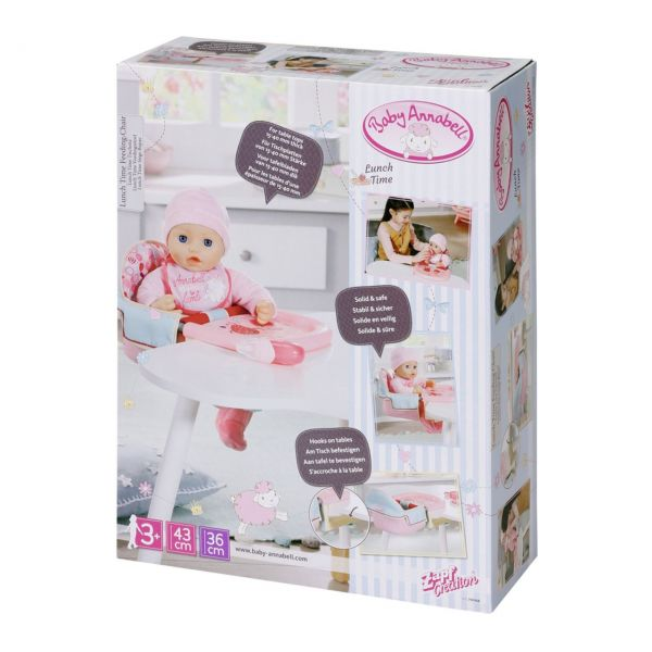 Zapf Creation 703168 - Baby Annabell® - Lunch Time Füttersitz