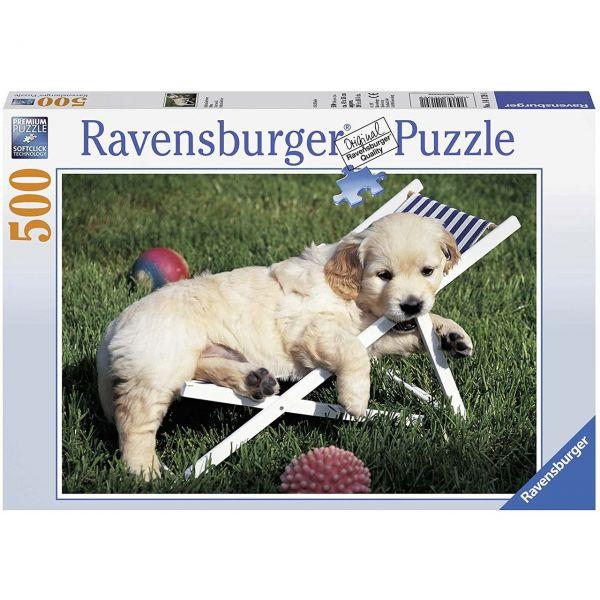 RAVENSBURGER 14179 - Puzzle - Golden Retriever, 500 Teile