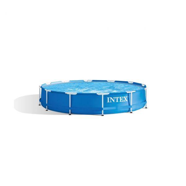 INTEX 28210NP - Pool - Metal Frame Pool, Ø366x76cm