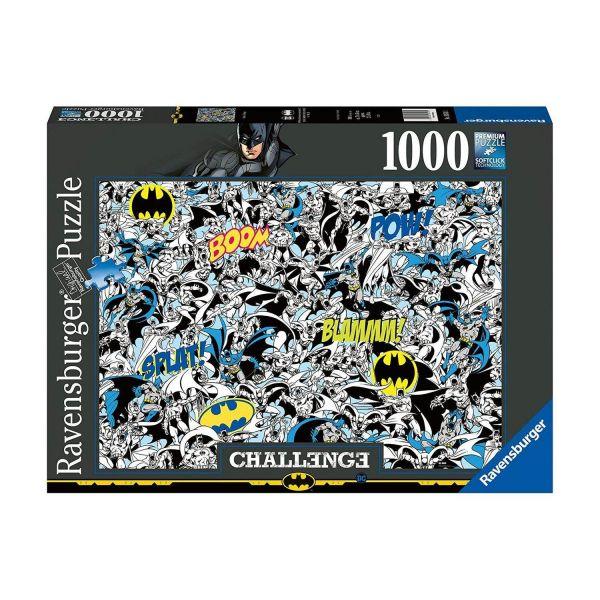 RAVENSBURGER 16513 - Puzzle - Batman Challenge, 1000 Teile