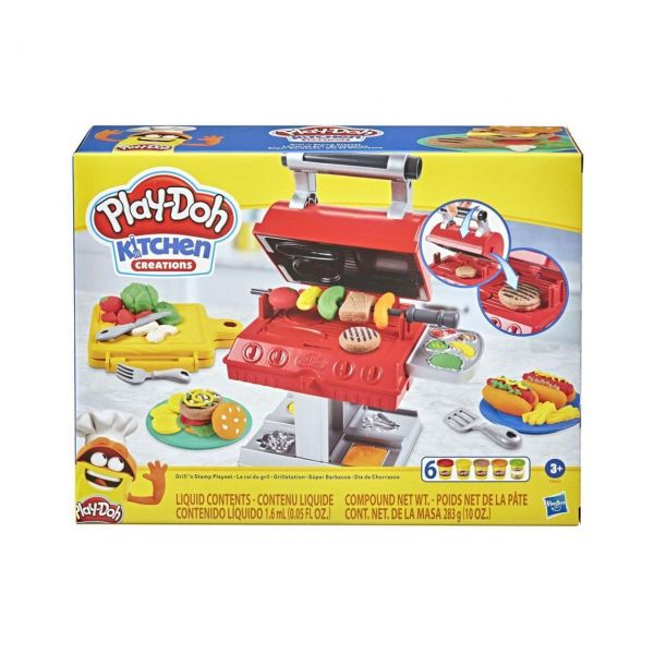 HASBRO F0652 - Play-Doh - Grillstation