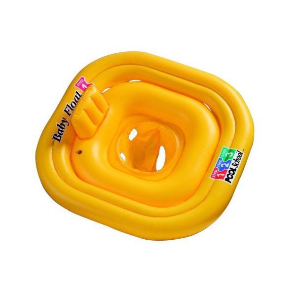 INTEX 56587EU - Schwimmhilfe - Babysicherheitsring Deluxe Float 4 Kammern