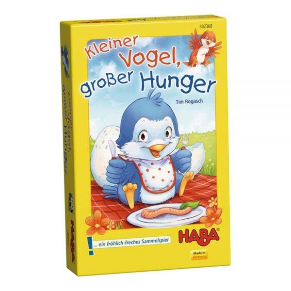 HABA 302368 - Mitbringspiel - Kleiner Vogel, großer Hunger