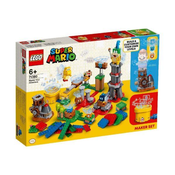 LEGO 71380 - Super Mario™ - Baumeister-Set für eigene Abenteuer