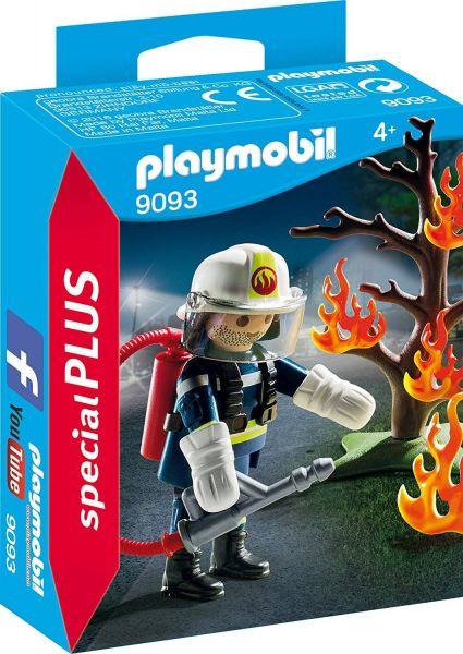 PLAYMOBIL 9093 - Special Plus - Feuerwehr-Löscheinsatz
