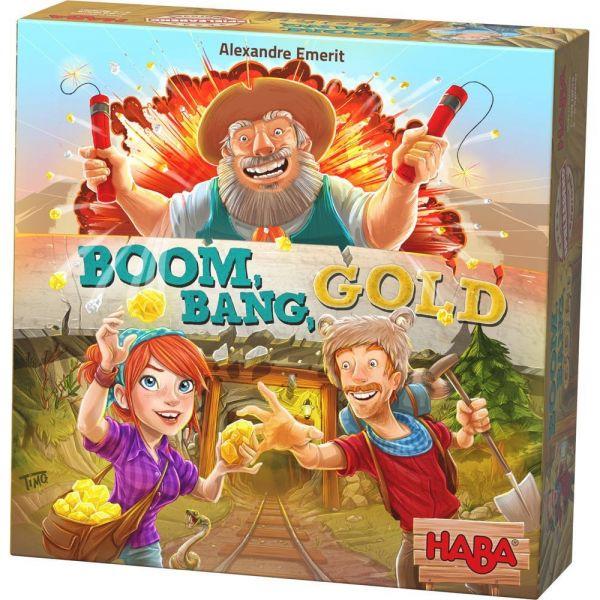 HABA 303337 - Mitbringspiel - Boom, Bang, Gold