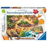 RAVENSBURGER 00051 - tiptoi Puzzle - Zoo Puzzle, 2 x 12 Teile