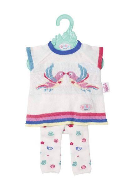 Zapf Creation 826966 - BABY born® Trend - Strickkleid, 43cm