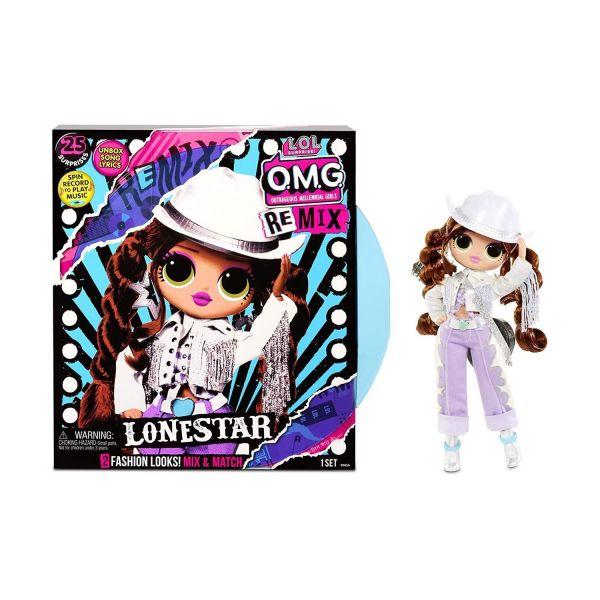 MGA 567233E7C - L.O.L. Surprise O.M.G. REMIX - Puppe Pop-Musik Lonestar