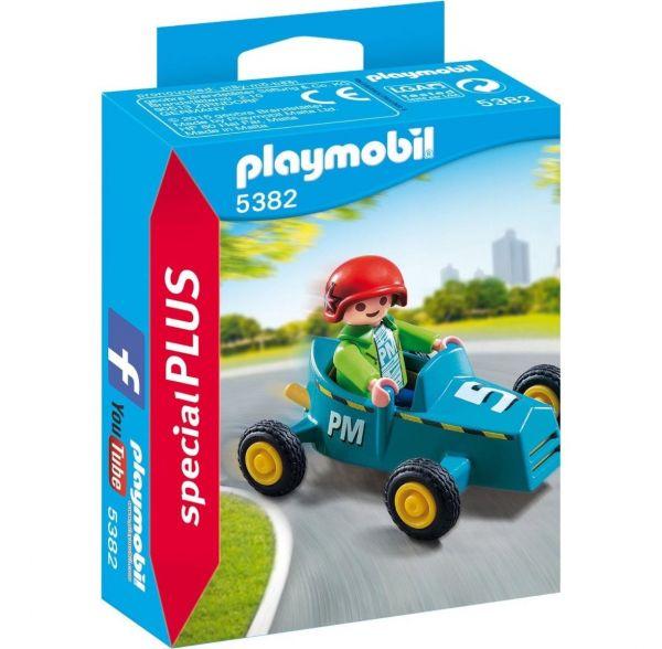 PLAYMOBIL 5382 - Special Plus - Junge mit Kart