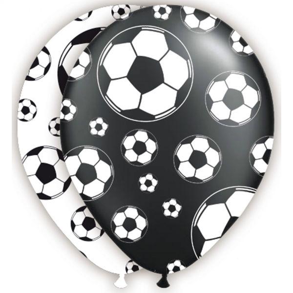 FOLAT 26205 - Geburtstag & Party - Fußball Luftballons, 8 Stk., 30 cm