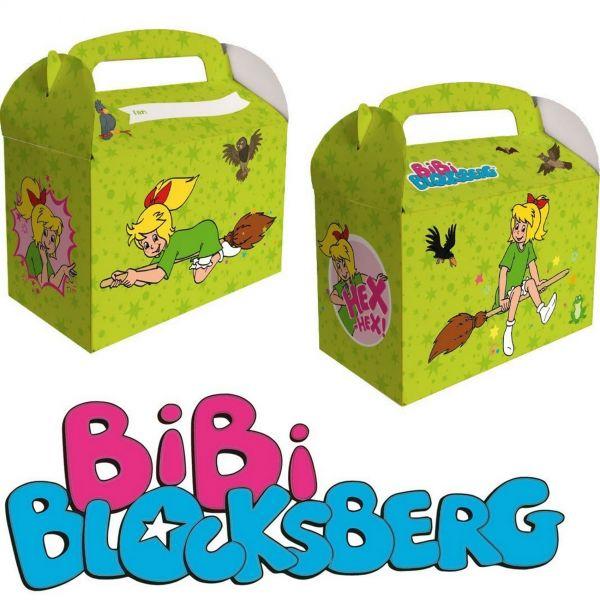 DH 060551 - Geburtstag & Party - Bibi Blocksberg Geschenkbox, 6 Stk., 13 x 15 x 8 cm