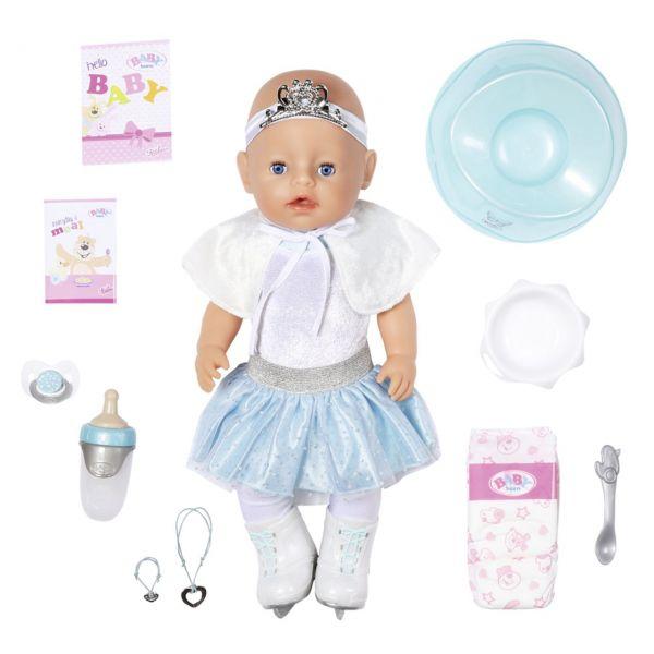 Zapf Creation 831250 - BABY born® - Soft Touch Eisballerina Puppe, 43 cm