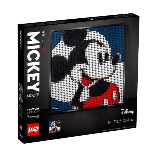 LEGO 31202 - Art - Mickey & Minnie Mouse Mosaik