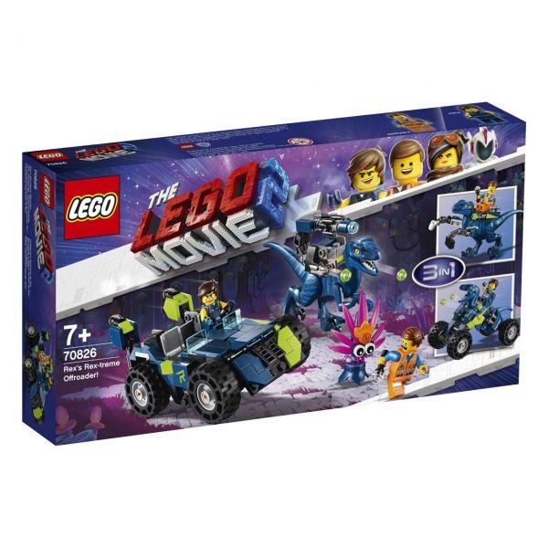 LEGO 70826 - The Lego Movie 2 - Rex Rextremes Offroad-Fahrzeug