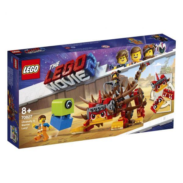 LEGO 70827 - The Lego Movie 2 - Ultrakatty und Krieger-Lucy