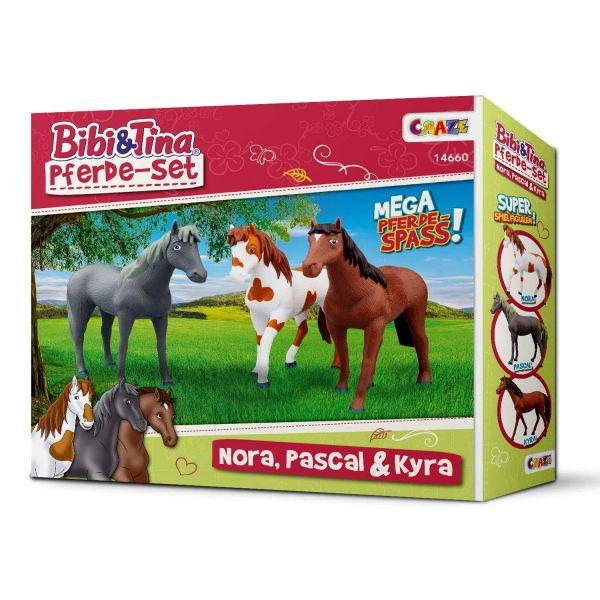 CRAZE 14660 - Bibi & Tina - Pferde Nora Pascal Kyra