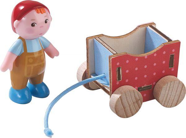HABA 302971 - Little Friends - Biegepuppe Baby Casimir