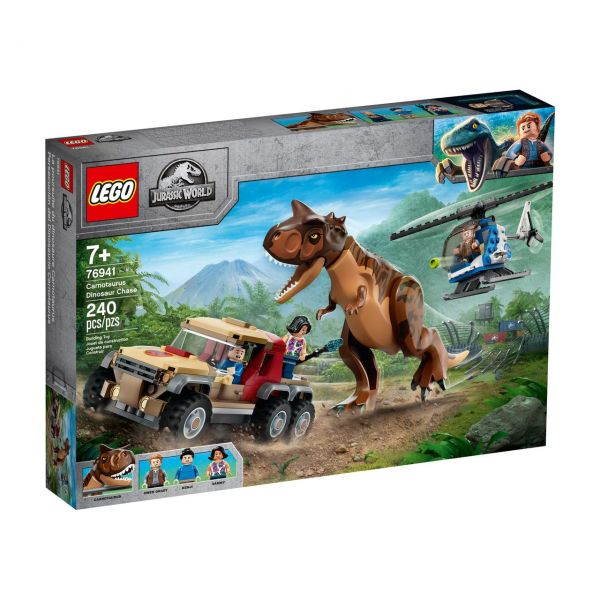 LEGO 76941 - Jurassic World™ - Verfolgung des Carnotaurus