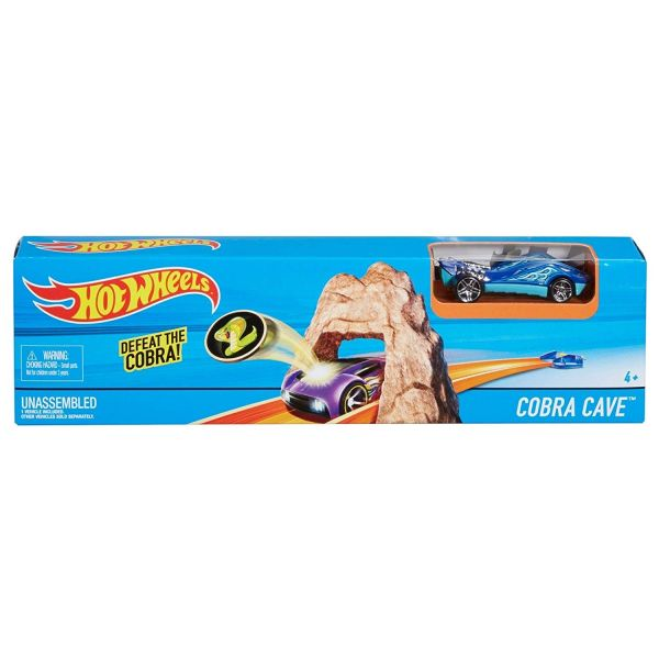 MATTEL DNN79 - Hot Wheels - Action Trackset Kobra Höhle