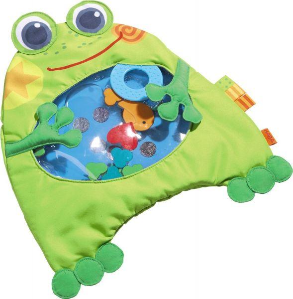 Haba 301467 - Wasser-Spielmatte kleiner Frosch