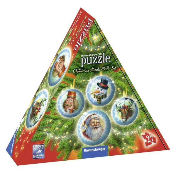 RAVENSBURGER 11678 - Puzzle - Christmas Puzzle-Ball Set