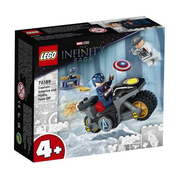 LEGO 76189 - Marvel Super Heroes™ - Duell zwischen Captain America und Hydra