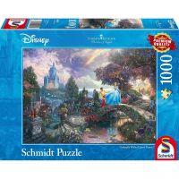 SCHMIDT 59472 - Puzzle - Thomas Kinkade, Disney Cinderella, 1000 Teile