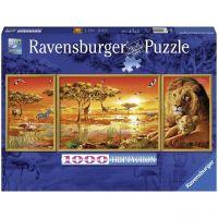 RAVENSBURGER 19836 - Puzzle - Afrikanische Impressionen, 1000 Teile