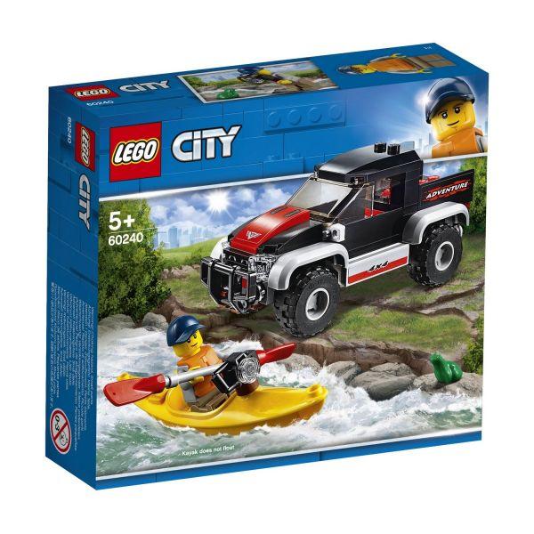 LEGO 60240 - City Fahrzeuge - Kajak-Abenteuer