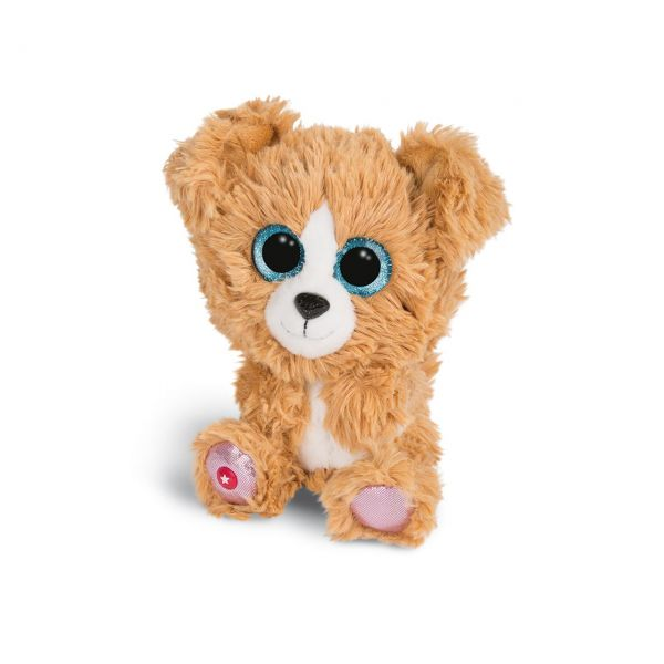NICI 46317 - Glubschis Plüschtier - Hund Lollidog, 15cm
