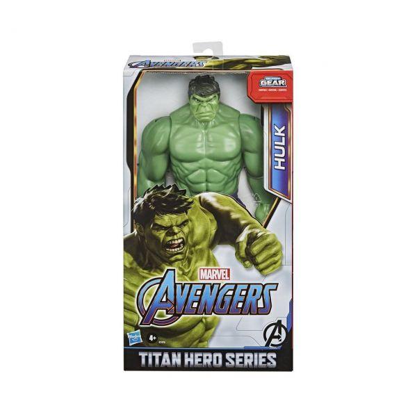 HASBRO E7475 - Marvel Avengers - Titan Hero Serie Deluxe: Hulk, 30cm