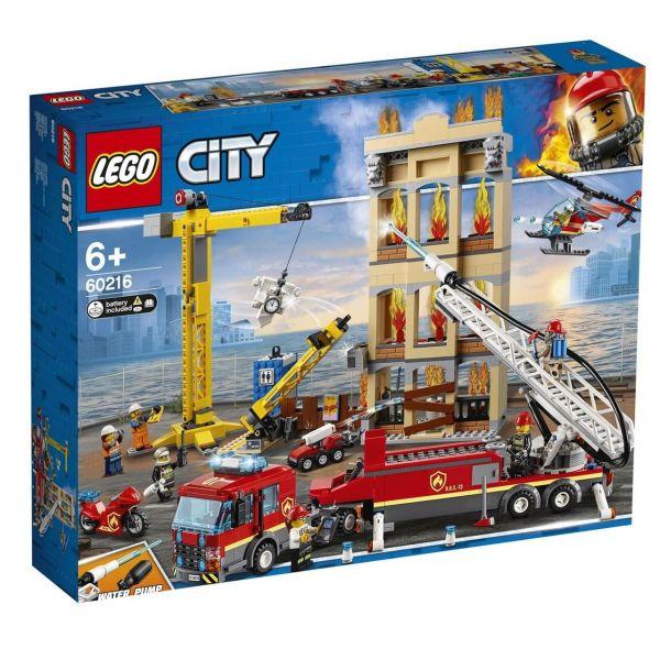LEGO 60216 - City Feuerwehr - Feuerwehr in der Stadt