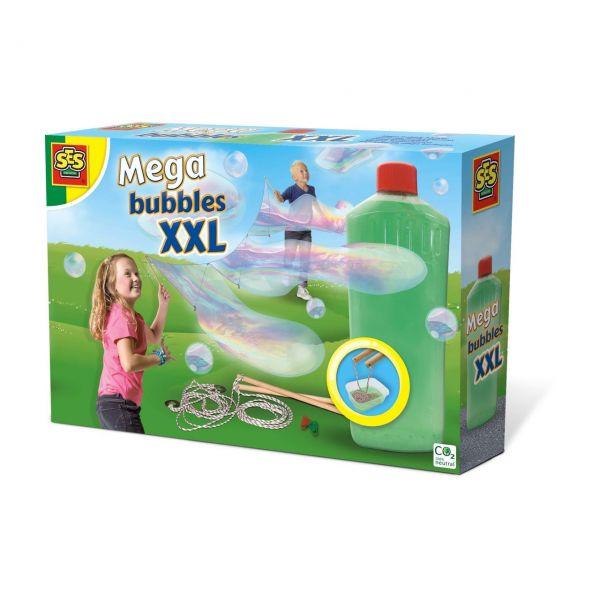 SES 02252 - Gartenspielzeug - Mega bubbles XXL, Riesen-Seifenblasen
