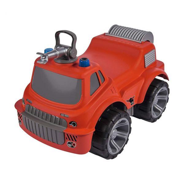 BIG 800055815 - Gartenspielzeug - Power-Worker Maxi, Firetruck Feuerwehrauto