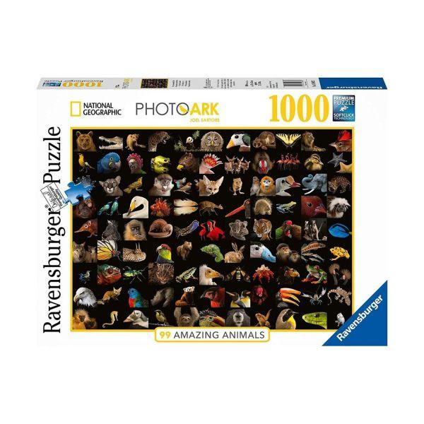 RAVENSBURGER 15983 - Puzzle - Atemberaubende Tiere, 1000 Teile