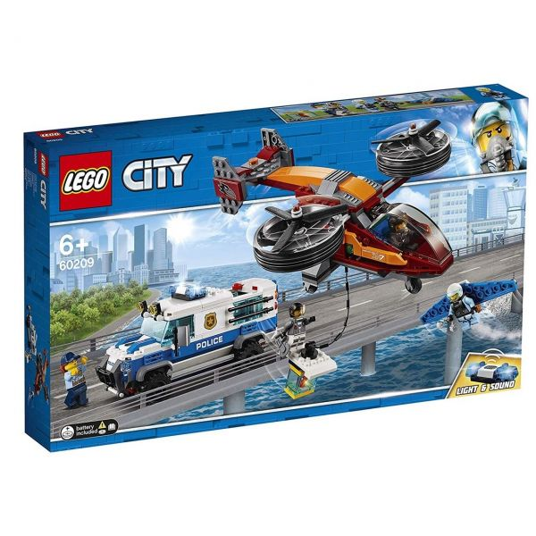 LEGO 60209 - City Polizei - Diamantenraub