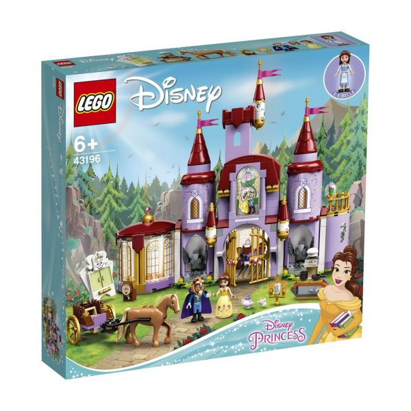 LEGO 43196 - Disney Princess - Belles Schloss