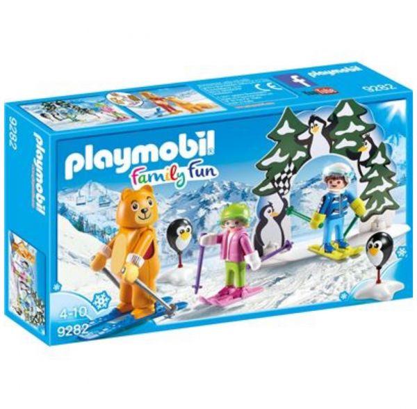 PLAYMOBIL 9282 - Family Fun Wintersport - Skischule