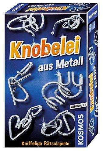 KOSMOS 711221 - Mitbringspiel - Knobelei aus Metall
