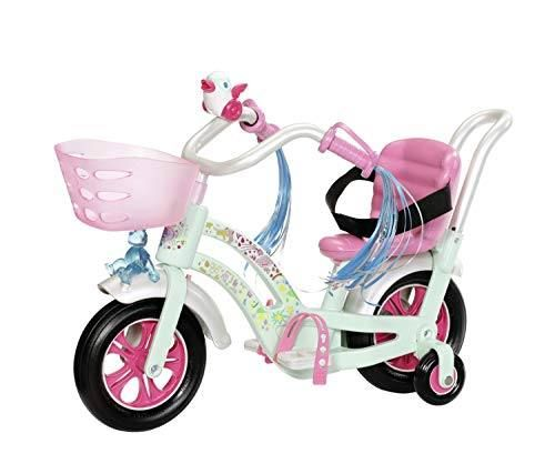 Zapf Creation 827208 - BABY born® Play&Fun - Fahrrad, mintgrün