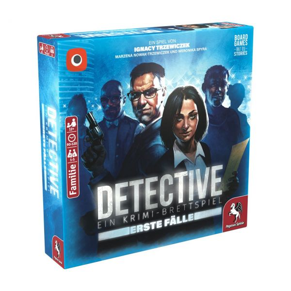PEGASUS 57512G - Familienspiel - Detective, Erste Fälle