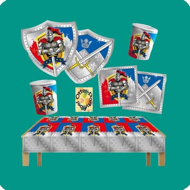 Partydekoration Ritter für Kindergeburtstag bei Spielzeugwelten