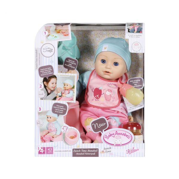 Zapf Creation 702987 - Baby Annabell® - Fütterspaß Puppe, 43cm
