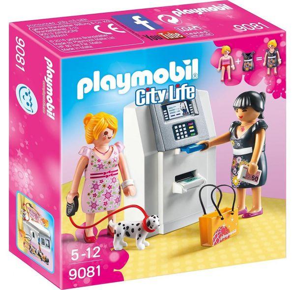 PLAYMOBIL 9081 - City Life Einkaufen - Geldautomat