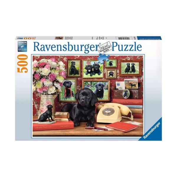 RAVENSBURGER 16591 - Puzzle - Meine treuen Freunde - Hundewelpen, 500 Teile