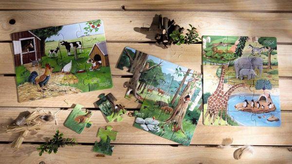 HABA 4960 - Puzzle - Tiere