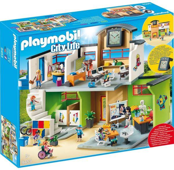 PLAYMOBIL 9453 - City Life Schule - Große Schule mit Einrichtung