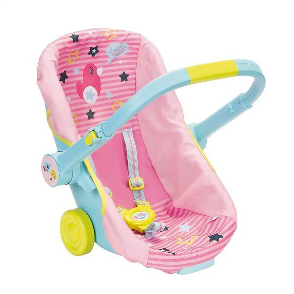 Zapf Creation 824412 - BABY born® Zubehör - Schalensitz mit Rädern